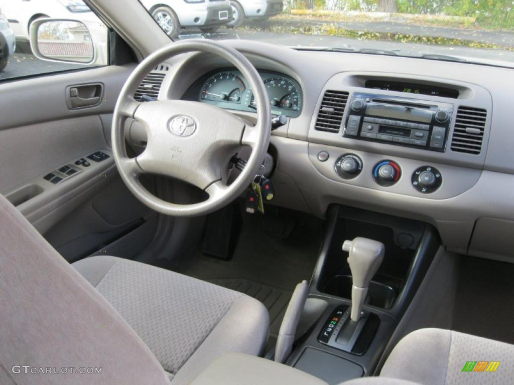 taupe interior 2003 toyota camry le photo 38756388. Black Bedroom Furniture Sets. Home Design Ideas