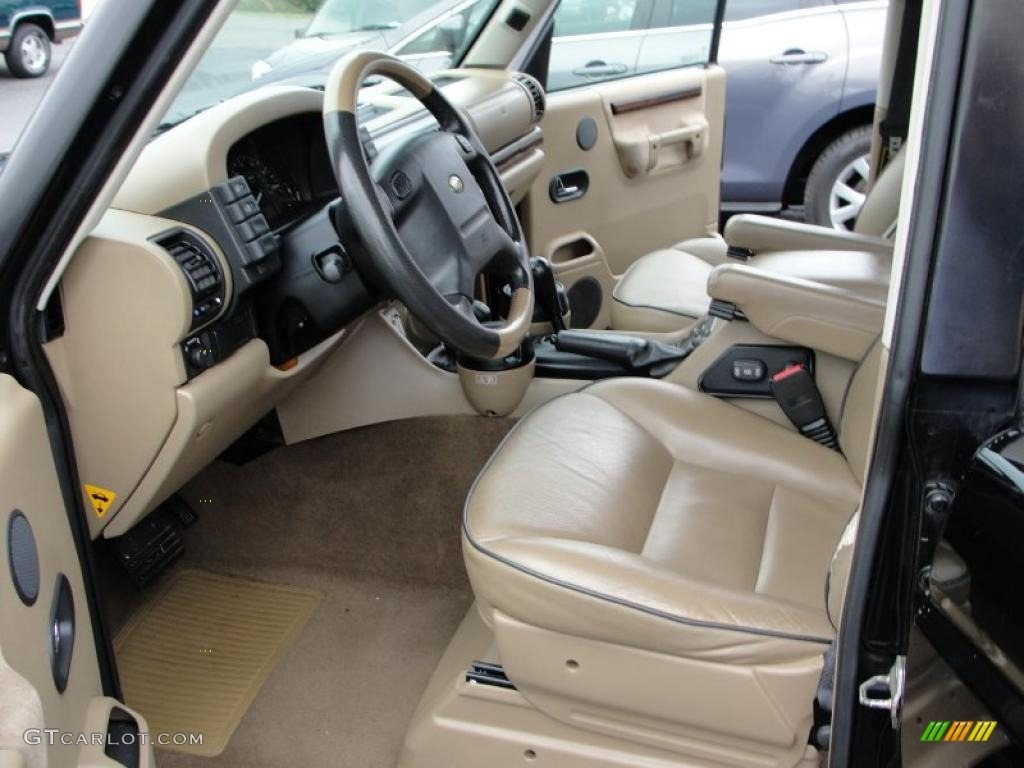 Bahama Beige Interior 2002 Land Rover Discovery Ii Se Photo 38763100