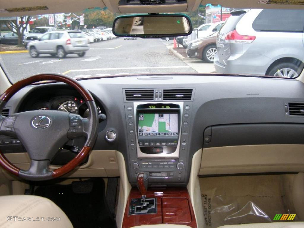 2006 lexus gs 300 cashmere dashboard photo 38764032. Black Bedroom Furniture Sets. Home Design Ideas