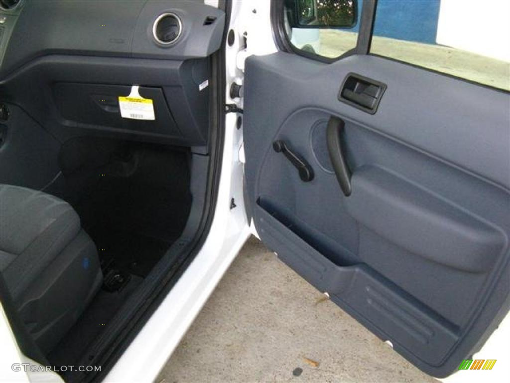 2010 Ford Transit Connect Xl Cargo Van Dark Gray Door Panel Photo 38769058