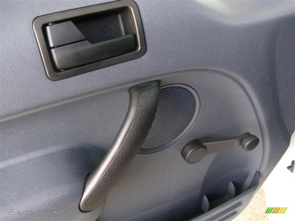 2010 Ford Transit Connect Xl Cargo Van Dark Gray Door Panel Photo 38769074
