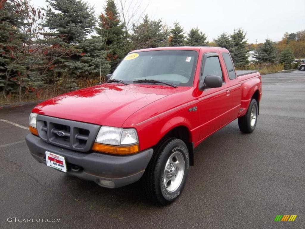 bright red 1998 ford ranger xlt extended cab 4x4 exterior photo 38769934. Black Bedroom Furniture Sets. Home Design Ideas