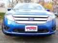 2011 Blue Flame Metallic Ford Fusion SE  photo #3