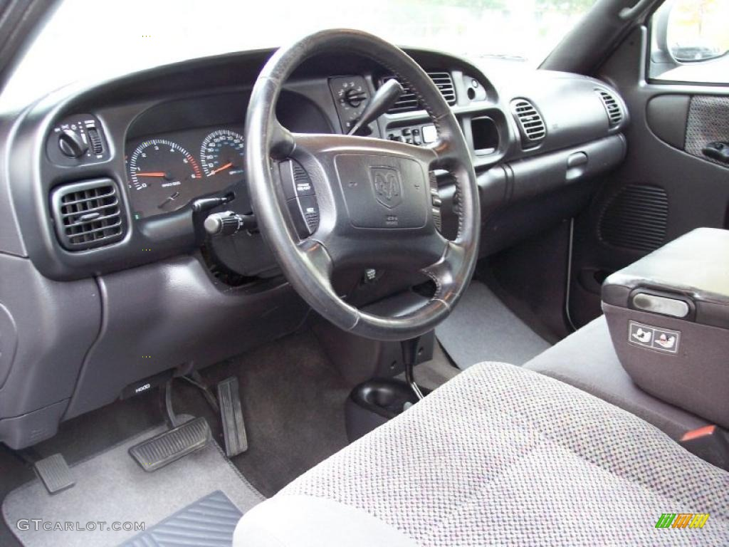 Mist Gray Interior 2001 Dodge Ram 2500 Slt Regular Cab 4x4