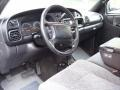 Mist Gray Prime Interior Photo for 2001 Dodge Ram 2500 #38779152