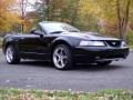 2001 Black Ford Mustang GT Convertible  photo #21