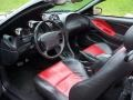 2001 Black Ford Mustang GT Convertible  photo #28