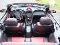 2001 Black Ford Mustang GT Convertible  photo #52