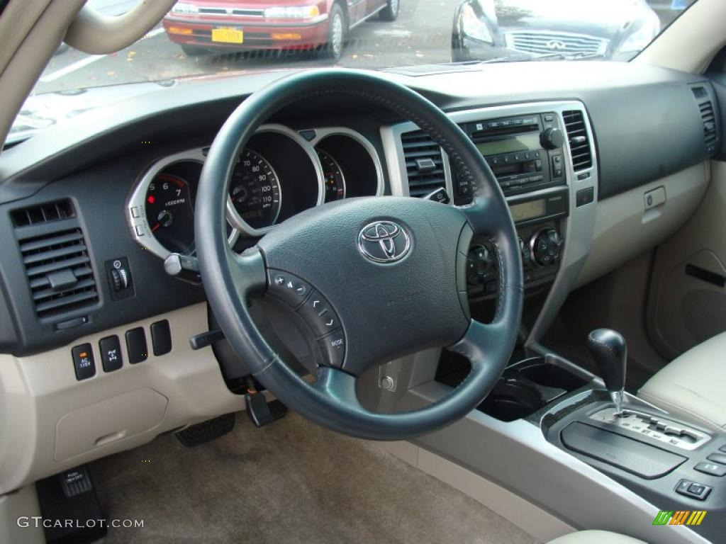 Taupe Interior 2004 Toyota 4runner Limited 4x4 Photo 38788330