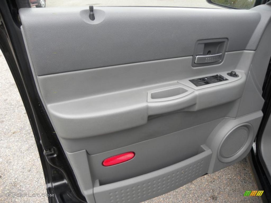 2004 Dodge Durango SLT Medium Slate Gray Door Panel Photo #38796503 & 2004 Dodge Durango SLT Medium Slate Gray Door Panel Photo #38796503 ...
