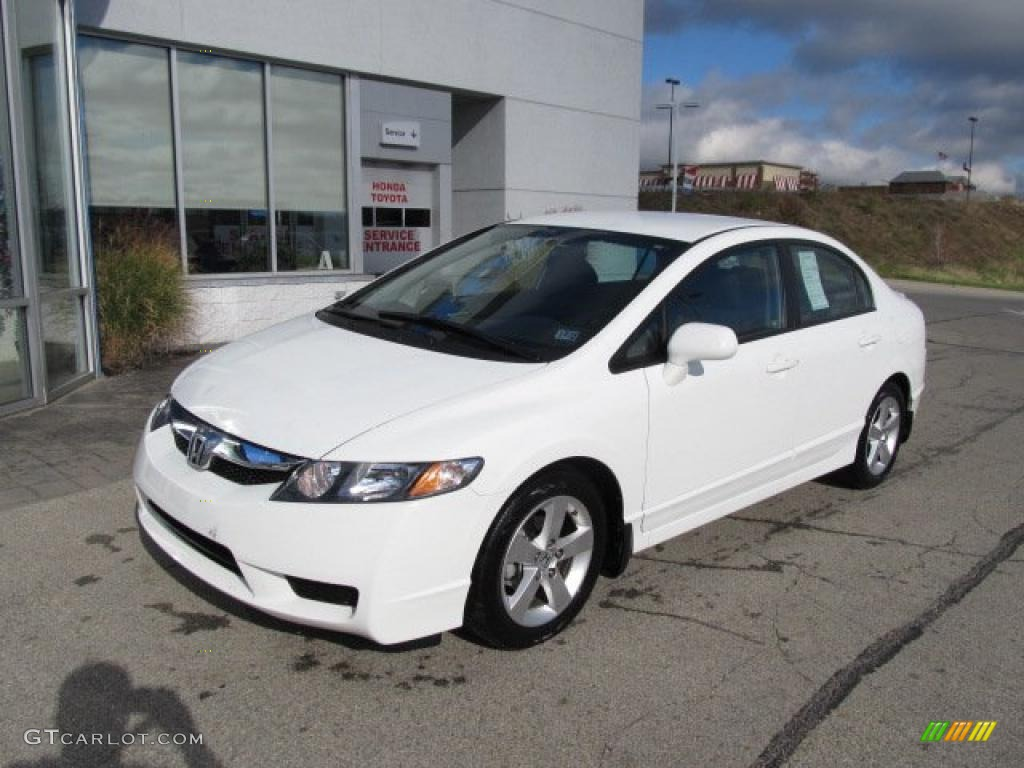Taffeta White 2010 Honda Civic LX S Sedan Exterior Photo #38797951
