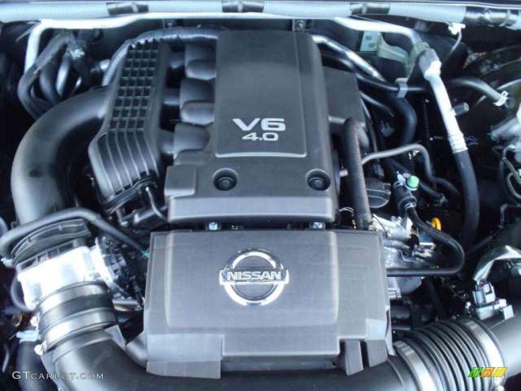 2011 Nissan Frontier Pro-4X Crew Cab 4.0 Liter DOHC 24 ...