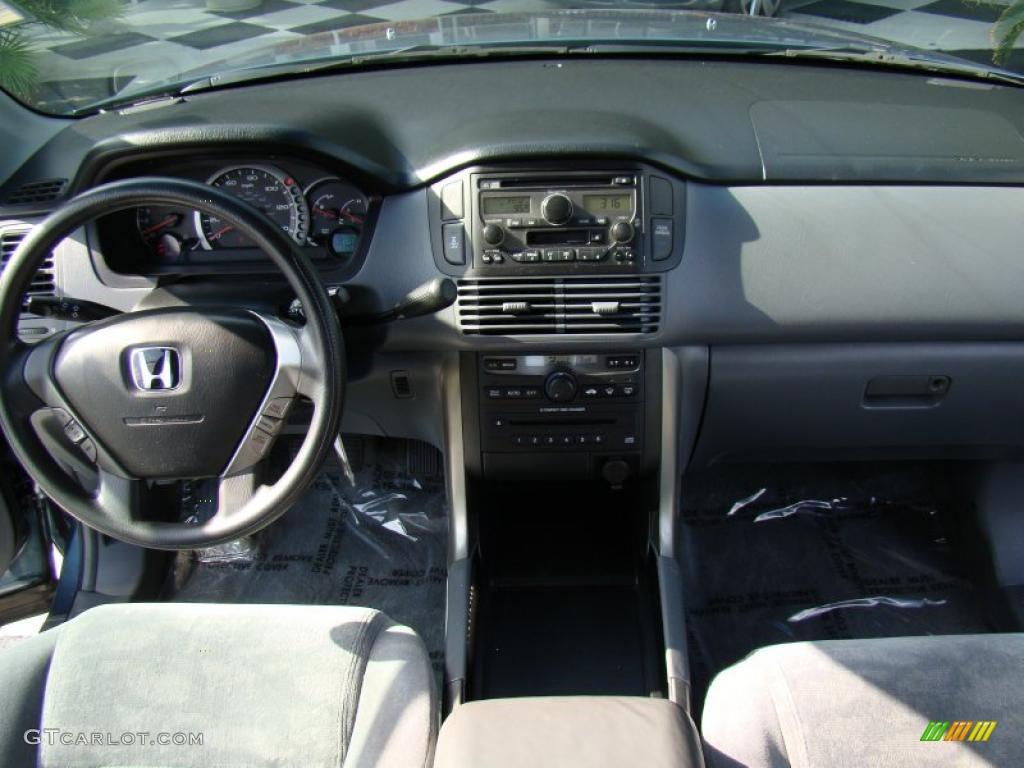 2005 Honda Pilot Ex 4wd Gray Dashboard Photo 38802744