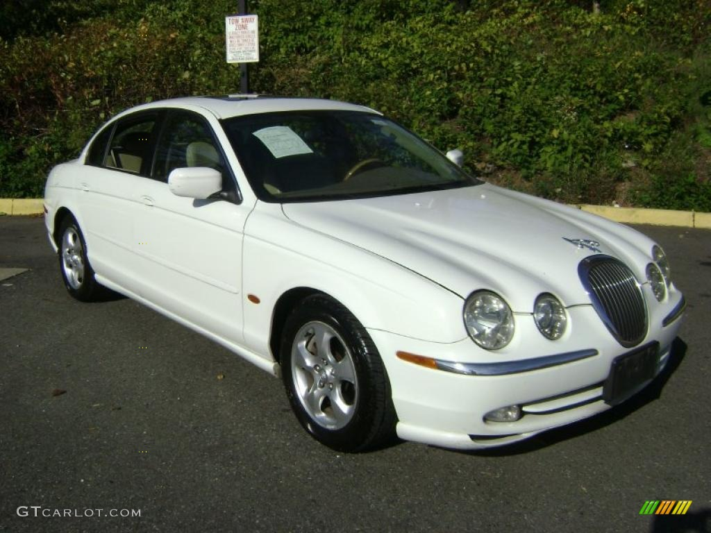 spindrift white 2000 jaguar s type 3 0 exterior photo. Black Bedroom Furniture Sets. Home Design Ideas