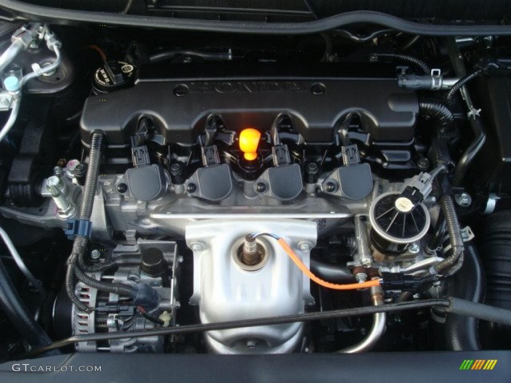 2009 honda civic lx s sedan 1 8 liter sohc 16 valve i vtec 4 cylinder engine photo 38819028