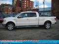 White Platinum Metallic Tri Coat - F150 Lariat SuperCrew 4x4 Photo No. 6