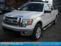 White Platinum Metallic Tri Coat - F150 Lariat SuperCrew 4x4 Photo No. 19