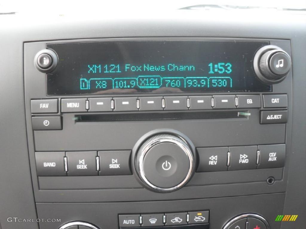 2011 Silverado 1500 LT Crew Cab - Imperial Blue Metallic / Ebony photo #13