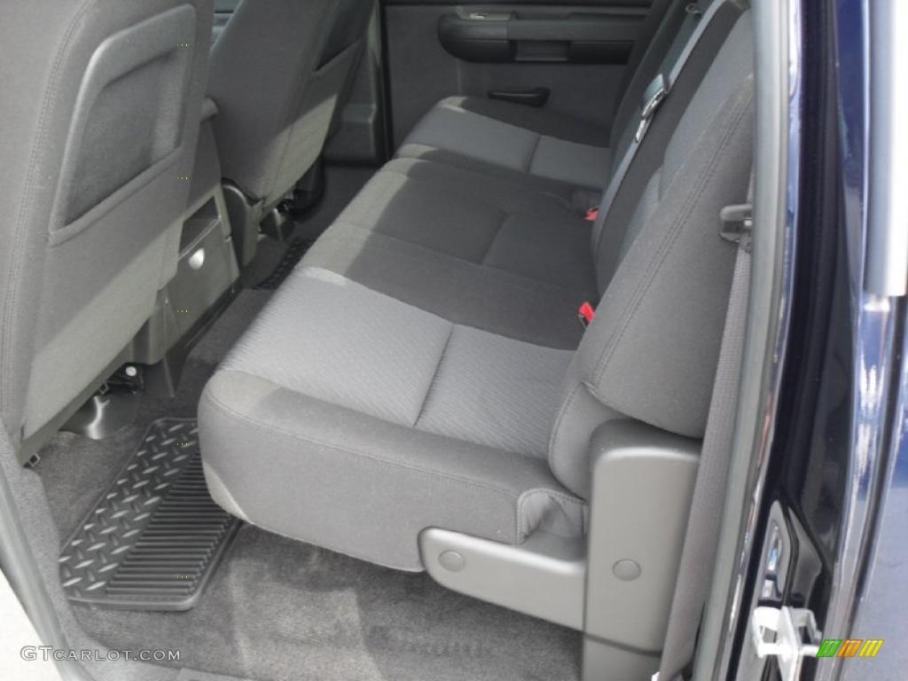 2011 Silverado 1500 LT Crew Cab - Imperial Blue Metallic / Ebony photo #15