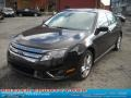 2011 Tuxedo Black Metallic Ford Fusion Sport  photo #18