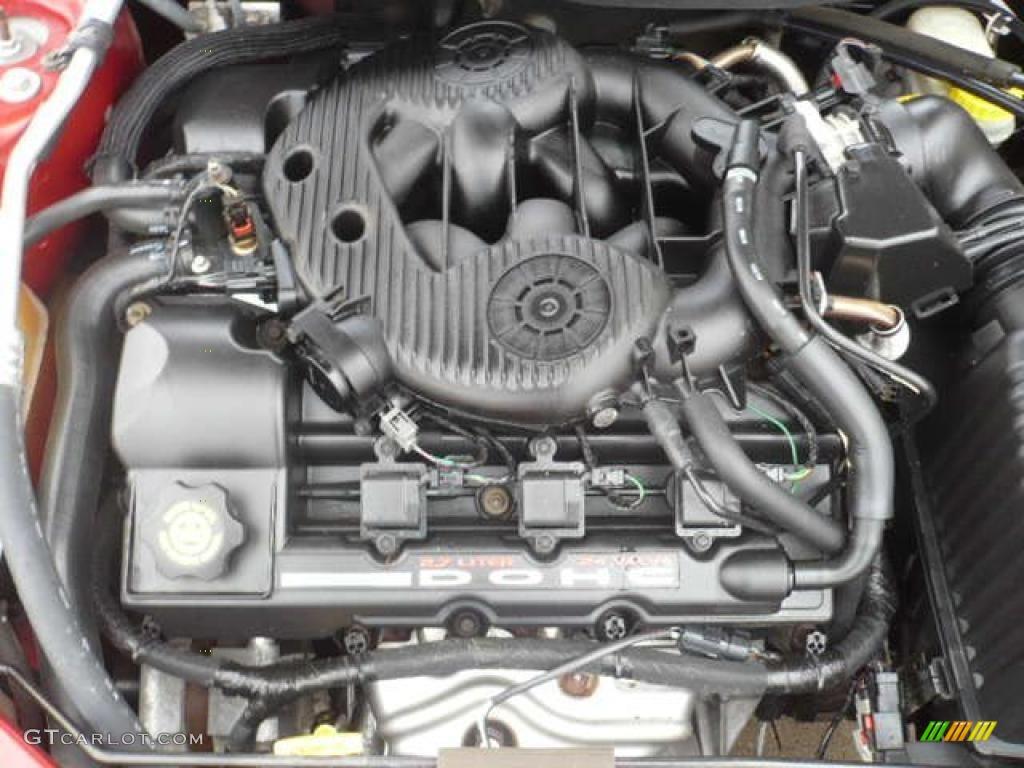 2001 Chrysler Sebring LXi Sedan 2.7 Liter DOHC 24-Valve V6 ...