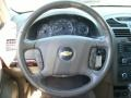 Cashmere Beige Steering Wheel Photo for 2007 Chevrolet Malibu #38829492