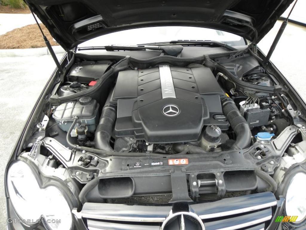 2006 mercedes benz clk 500 coupe 5 0 liter sohc 24 valve for Mercedes benz v8 engines