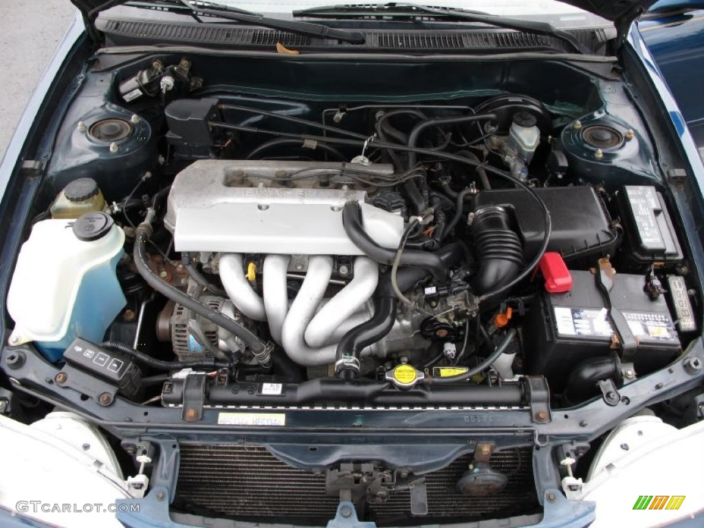 1998 Toyota Corolla LE 1.8 Liter DOHC 16-Valve 4 Cylinder ...