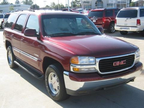2002 GMC Yukon SLT Data, Info and Specs