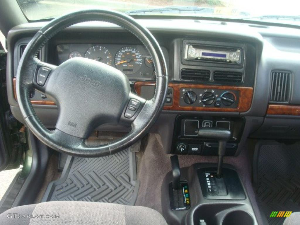 1996 Jeep Grand Cherokee Laredo 4x4 Agate Dashboard Photo 38848624