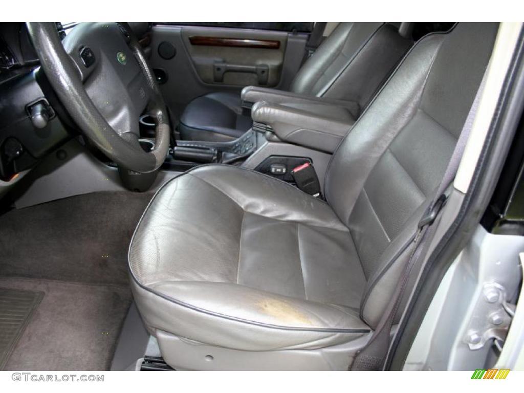 Smokestone Interior 2002 Land Rover Discovery Ii Se Photo 38854056