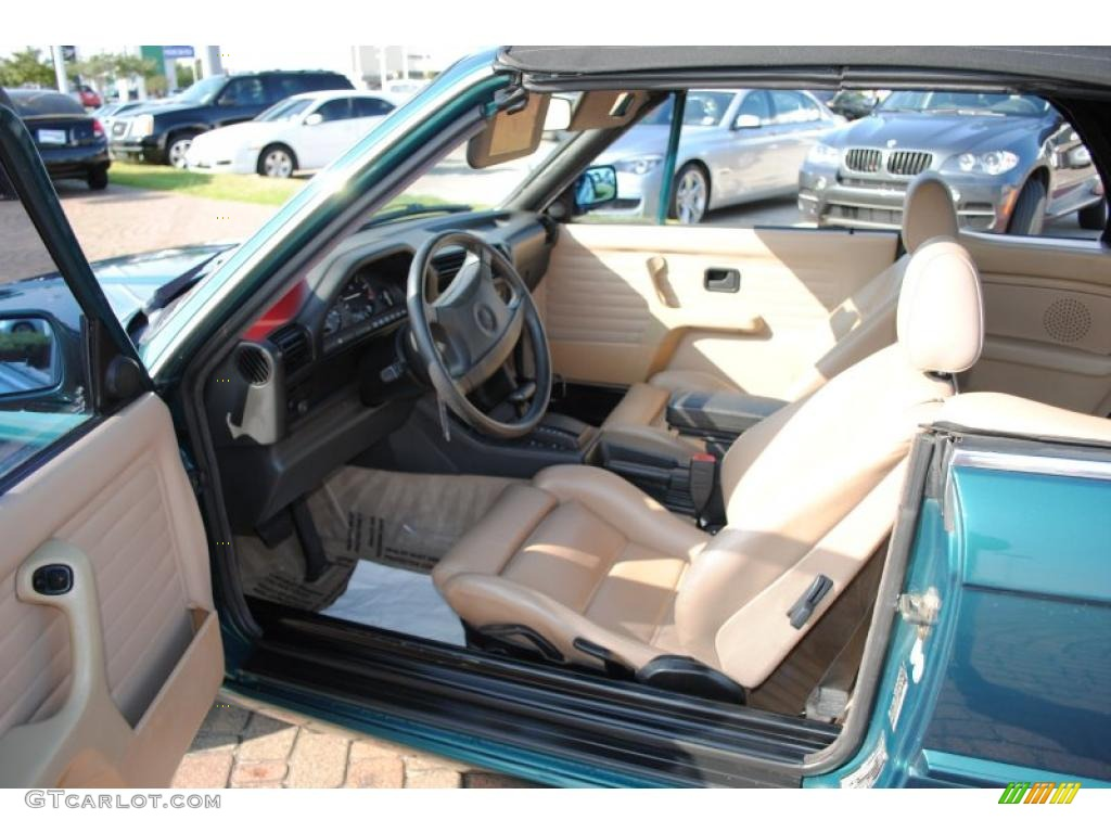 Tan Interior 1992 BMW 3 Series 325i Convertible Photo ...