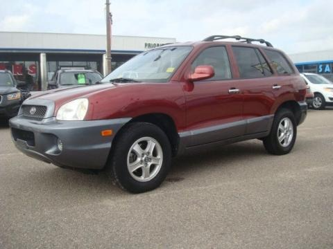 2004 hyundai santa fe lx data info and specs. Black Bedroom Furniture Sets. Home Design Ideas