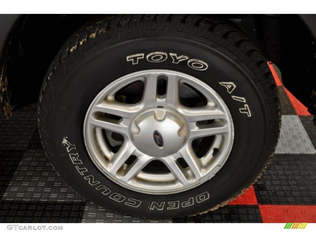 2003 Ford Explorer XLS 4x4 Wheel Photo #38870148