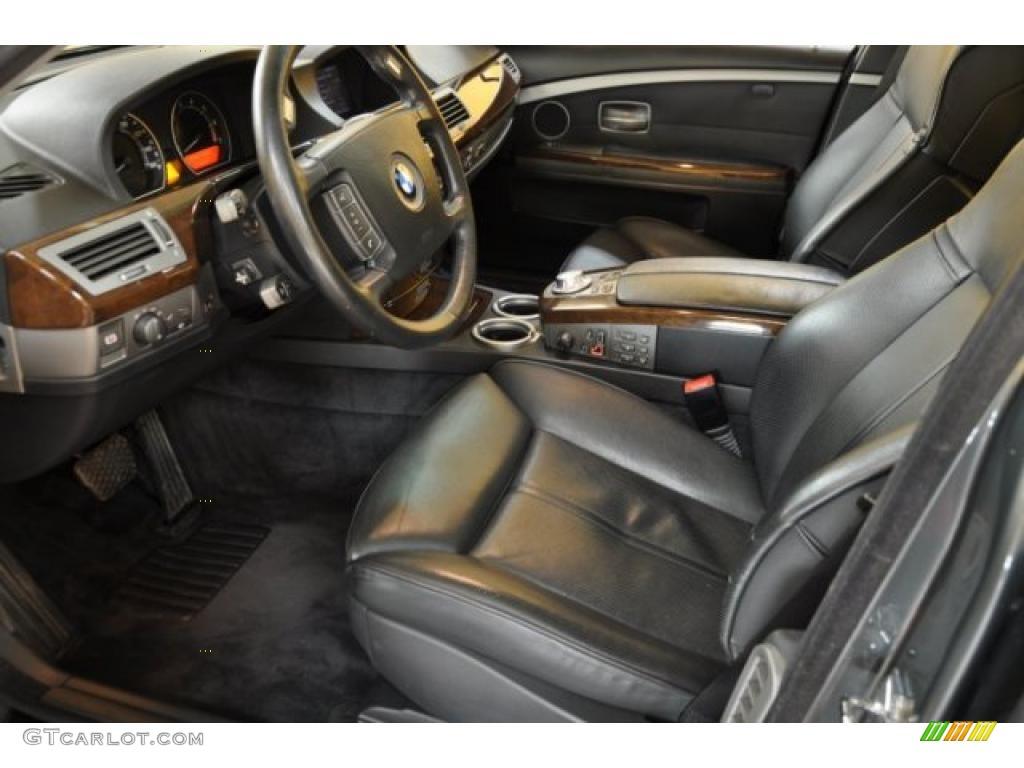 Black Black Interior 2004 Bmw 7 Series 745i Sedan Photo 38870860 Gtcarlot Com