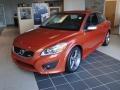 Orange Flame Metallic - C30 T5 R-Design Photo No. 1
