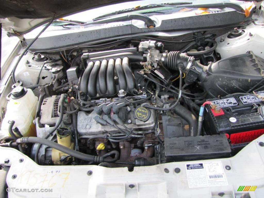 2002 Ford Taurus Ses 3 0 Liter Ohv 12 Valve V6 Engine Photo 38898582