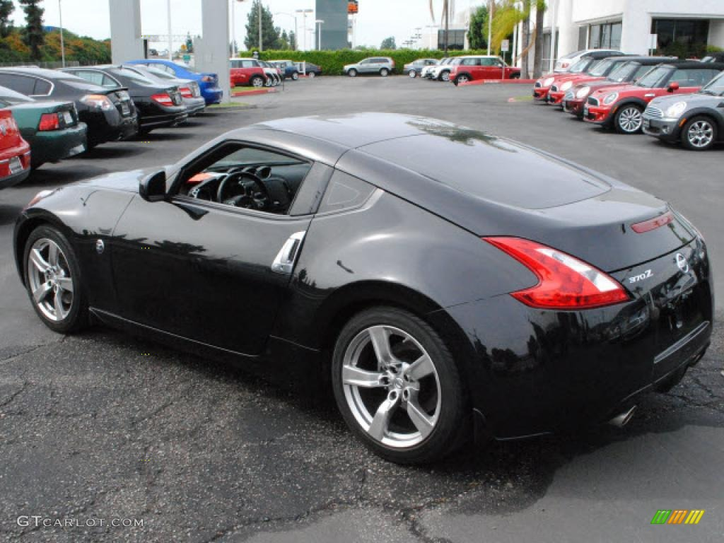magnetic black 2009 nissan 370z touring coupe exterior photo 38898762. Black Bedroom Furniture Sets. Home Design Ideas
