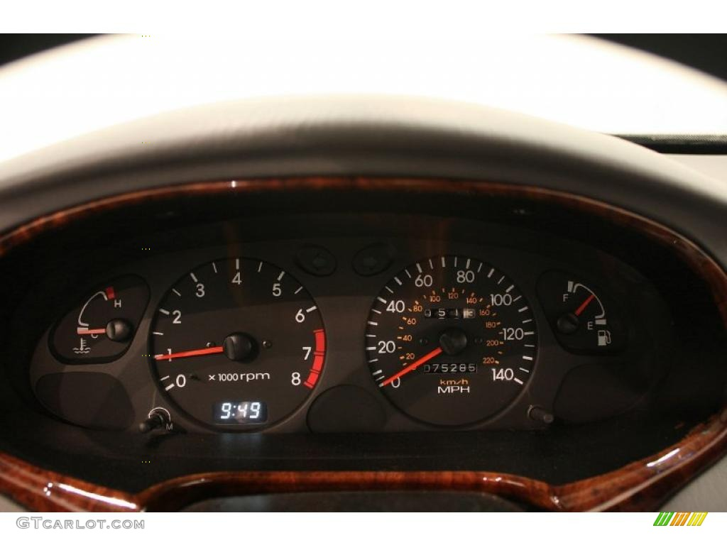 2000 Hyundai Elantra Gls Sedan Gauges Photo 38904634 Gtcarlot Com