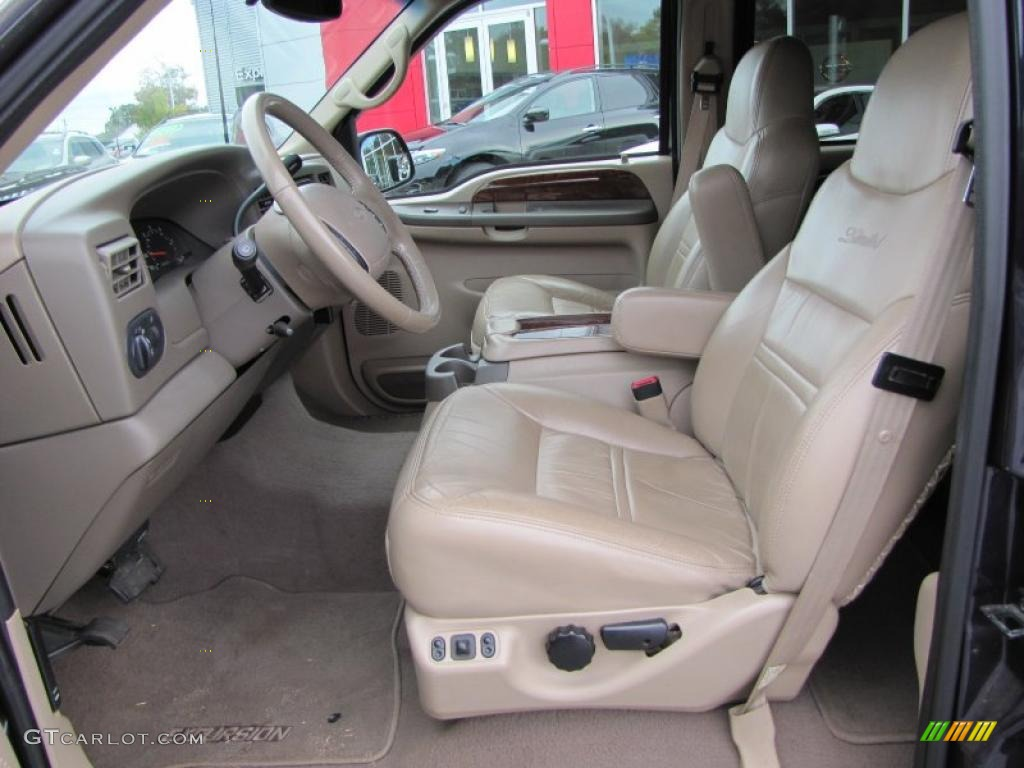 Amazing 2000 Ford Excursion Limited Interior Photo #38911762