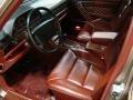 1989 S Class 560 SEL Burgundy Interior