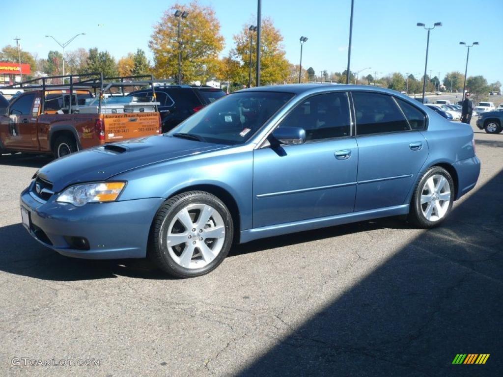 Newport Blue Pearl 2007 Subaru Legacy 2 5 Gt Limited Sedan Exterior Photo 38915382 Gtcarlot Com