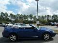 2003 Sonic Blue Metallic Ford Mustang V6 Convertible  photo #13