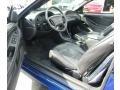 2003 Sonic Blue Metallic Ford Mustang V6 Convertible  photo #21