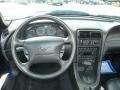 2003 Sonic Blue Metallic Ford Mustang V6 Convertible  photo #26