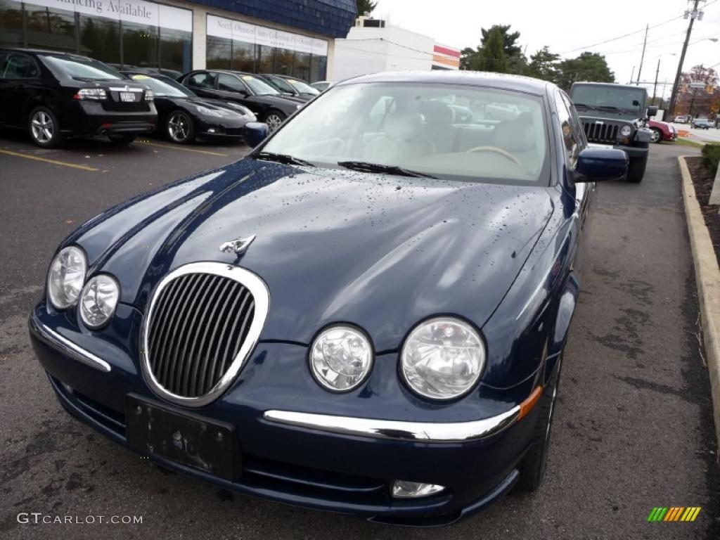 Sapphire Blue Metallic Jaguar S Type