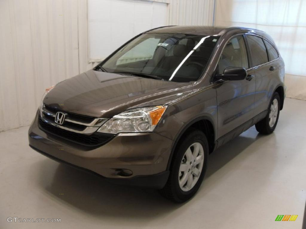 2011 CR-V SE 4WD - Urban Titanium Metallic / Ivory photo #1