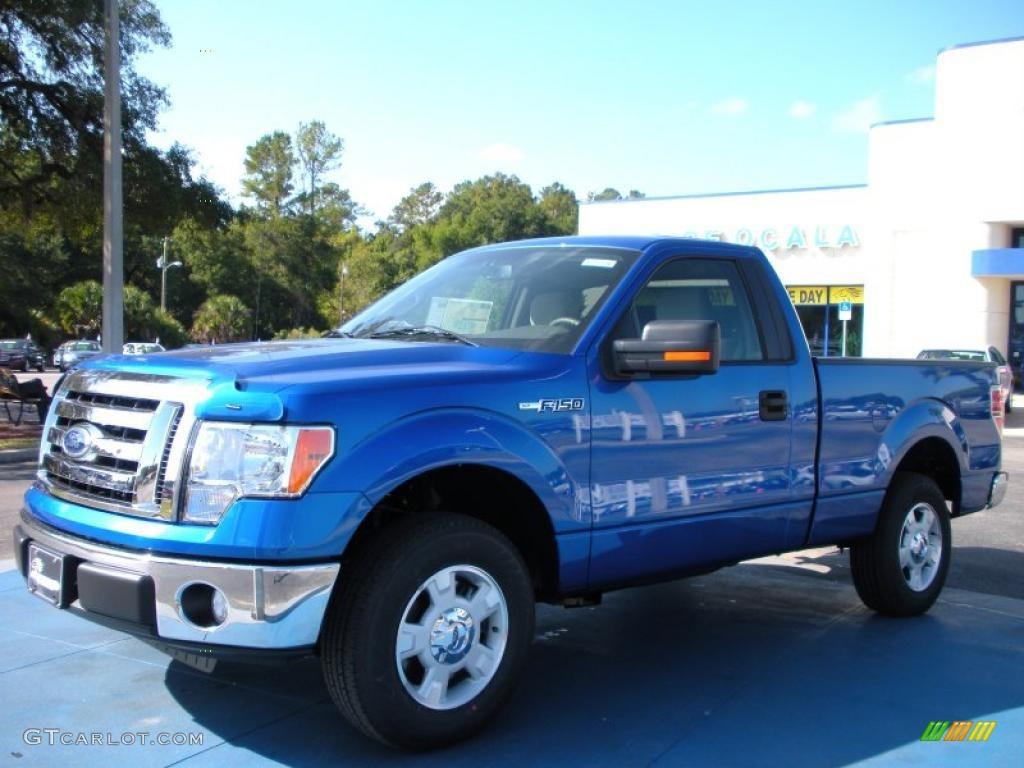 2010 blue flame metallic ford f150 xlt regular cab 38917340 car color galleries. Black Bedroom Furniture Sets. Home Design Ideas