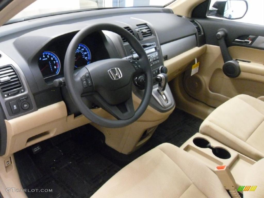Ivory Interior 2011 Honda Cr V Se Photo 38934198
