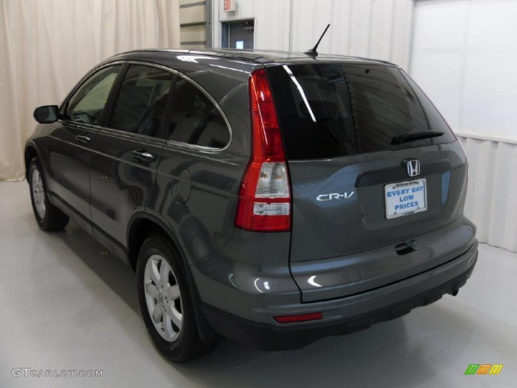2011 CR-V SE - Polished Metal Metallic / Black photo #2
